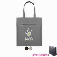 Canvas boodschappentas bedrukken, biologisch tasje bedrukt, duurzaam tasje met logo, goedkope katoenen tas