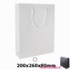 Gelamineerde geschenktas bedrukken wit, Gelamineerde papieren tas bedrukt, bedrukte papieren tas met logo, goedkope papieren tas