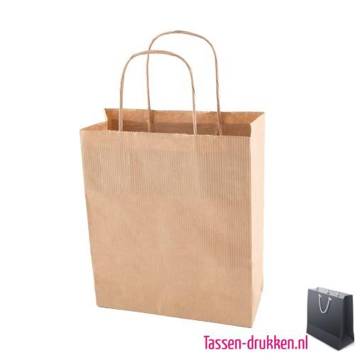 Grote Papieren Tas : Papieren tas goedkoop bedrukken vanaf per stuk